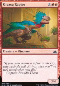 Orazca Raptor - Rivals of Ixalan