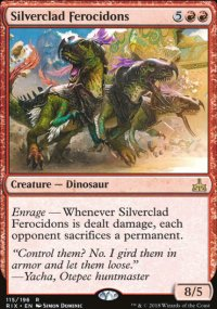 Silverclad Ferocidons - Rivals of Ixalan