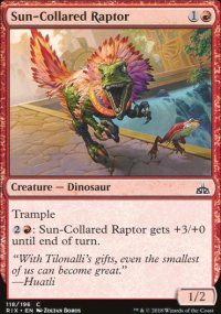 Sun-Collared Raptor - Rivals of Ixalan