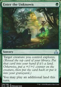 Enter the Unknown - Rivals of Ixalan
