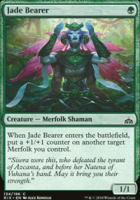 Jade Bearer - Rivals of Ixalan