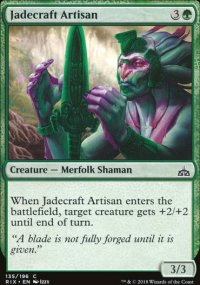 Jadecraft Artisan - Rivals of Ixalan