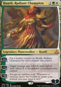 Huatli, Radiant Champion - Rivals of Ixalan