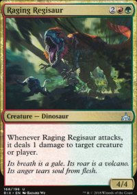 Raging Regisaur - Rivals of Ixalan