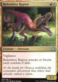 Relentless Raptor - Rivals of Ixalan
