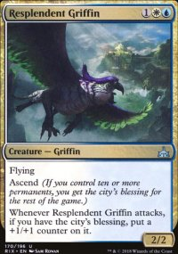 Resplendent Griffin - Rivals of Ixalan