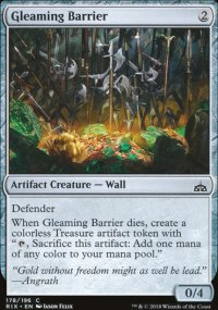 Gleaming Barrier - Rivals of Ixalan