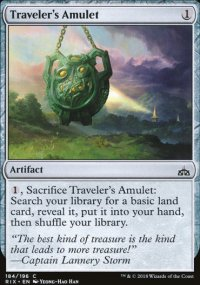 Traveler's Amulet - Rivals of Ixalan