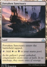 Forsaken Sanctuary - Rivals of Ixalan