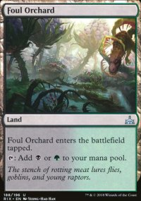 Foul Orchard - Rivals of Ixalan