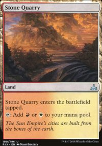 Stone Quarry - Rivals of Ixalan