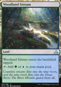 Woodland Stream - Rivals of Ixalan