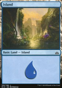 Island - Rivals of Ixalan