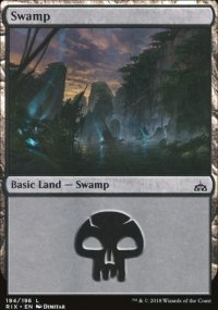 Swamp - Rivals of Ixalan