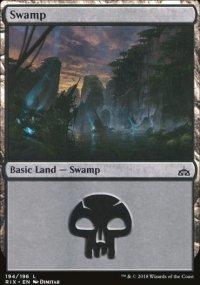 Swamp - Rivals of Ixalan