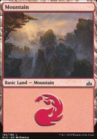 Mountain - Rivals of Ixalan