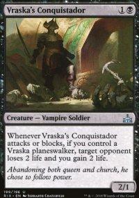 Vraska's Conquistador - Rivals of Ixalan