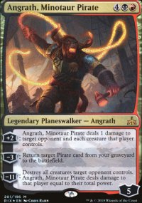 Angrath, Minotaur Pirate - Rivals of Ixalan