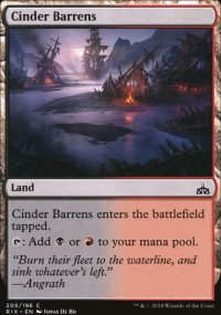 Cinder Barrens - Rivals of Ixalan