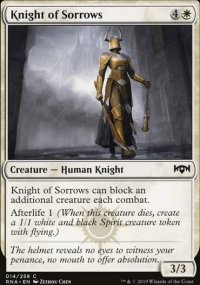 Knight of Sorrows - Ravnica Allegiance