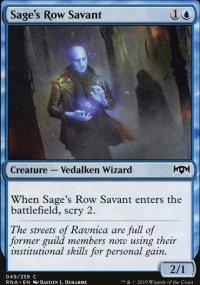 Sage's Row Savant - Ravnica Allegiance