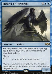 Sphinx of Foresight - Ravnica Allegiance