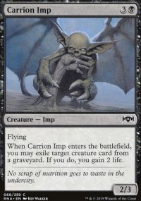 Carrion Imp - Ravnica Allegiance