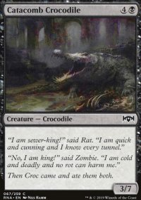 Catacomb Crocodile -