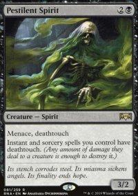 Pestilent Spirit - Ravnica Allegiance