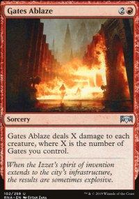 Gates Ablaze - Ravnica Allegiance