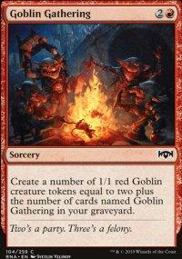 Goblin Gathering - Ravnica Allegiance