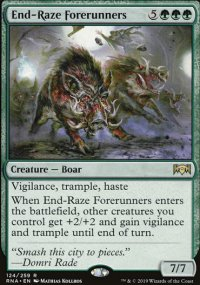 End-Raze Forerunners - Ravnica Allegiance