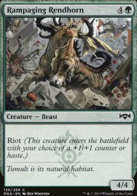 Rampaging Rendhorn -