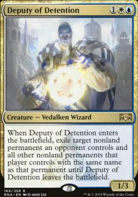 Deputy of Detention - Ravnica Allegiance