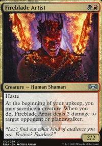Fireblade Artist - Ravnica Allegiance