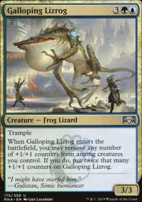 Galloping Lizrog -