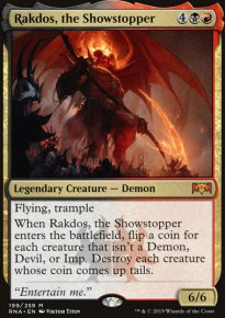 Rakdos, the Showstopper -
