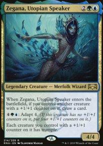 Zegana, Utopian Speaker - Ravnica Allegiance