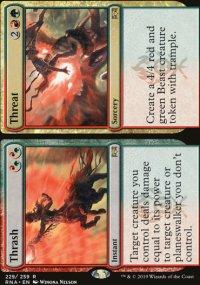 Thrash / Threat - Ravnica Allegiance