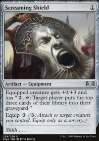 Screaming Shield - Ravnica Allegiance