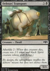 Debtors' Transport - Ravnica Allegiance