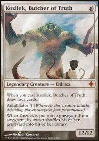 Kozilek, Butcher of Truth - Rise of the Eldrazi