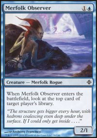 Merfolk Observer - Rise of the Eldrazi