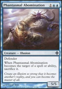 Phantasmal Abomination - Rise of the Eldrazi