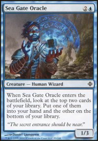 Sea Gate Oracle - Rise of the Eldrazi