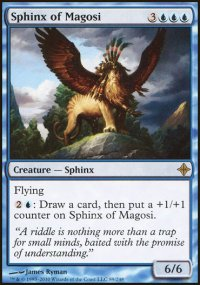 Sphinx of Magosi - Rise of the Eldrazi