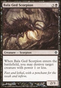 Bala Ged Scorpion - Rise of the Eldrazi