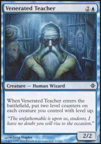 Venerated Teacher - Rise of the Eldrazi