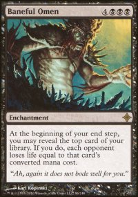 Baneful Omen - Rise of the Eldrazi