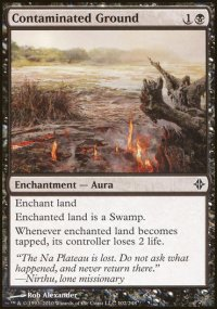 Contaminated Ground - Rise of the Eldrazi